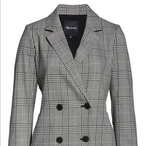 Caldwell Plaid Double Breasted Blazer